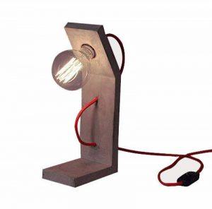 Lampe à poser béton + AMPOULE Globe E27 à filaments VINTAGE 40W 80 mm – Grand FACTORY & MEDIUM GLOBE de la marque Meubletmoi image 0 produit