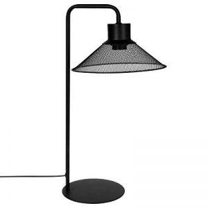 Lampe à poser design et originale - Abat jour en métal ajouré - Coloris NOIR de la marque Atmosphera image 0 produit