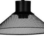 Lampe à poser design et originale - Abat jour en métal ajouré - Coloris NOIR de la marque Atmosphera image 1 produit