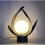 Lampe à poser ethnique. Décoration japonaise style Zen. de la marque Artisanal image 1 produit
