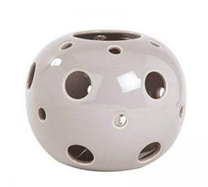 Lampe à poser - Lampe de chevet Astra - Céramique colorée - E27 60W (Beige) de la marque LUSSIOL image 0 produit