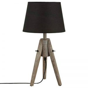 lampe à poser noire design TOP 1 image 0 produit