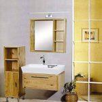 Lampe Salle de Bain LED 9W 850LM Blanc Eclairage Pour Miroir Maquillage Armoire de toilette Meuble 180-260V 48 LEDs 2835SMD, Blanc Chaud 3000K de la marque SUBOSI image 2 produit