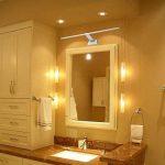 Lampe Salle de Bain LED 9W 850LM Blanc Eclairage Pour Miroir Maquillage Armoire de toilette Meuble 180-260V 48 LEDs 2835SMD, Blanc Chaud 3000K de la marque SUBOSI image 3 produit