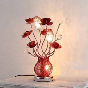lampe salon rouge TOP 1 image 0 produit