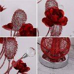 lampe salon rouge TOP 1 image 2 produit