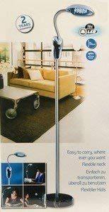 lampe sans fil liseuse lampadaire sur pied 16 leds tete flexible orientable de la marque LIFETIM image 0 produit