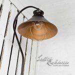 Lampe sur pied loft en métal marron/intérieur en cuivre avec culot e27 industrielampe vintage de sol industriel de la marque Licht-Erlebnisse image 4 produit