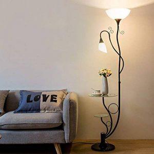 Lampe sur pied salon table basse simple chambre moderne protection des yeux lampe de bureau verticale étude créative lumières de piano de la marque lampadaire image 0 produit