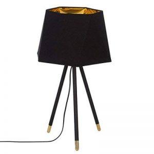 Lampe sur trépied - Esprit Chic industriel - Coloris NOIR et OR de la marque Atmosphera image 0 produit