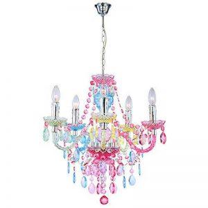 Lampe à suspendre - Chandelier - Chrome, acrylique -Nevada - Globo 63218 de la marque Globo image 0 produit