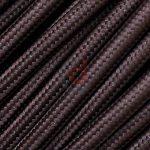 Lampe suspension avec châssis Abat-jour diamant XL à fil métallique cuivré–Choisir entre les couleurs de câble en couleur unie 0,5 metri marron de la marque CD Cables image 1 produit