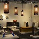 Lampe Suspension Vintage, Maxsal E27 Lustre Plafonniers (sans ampoule) Style Retro Industrielle (Forme cylindrique) de la marque Maxsal image 4 produit