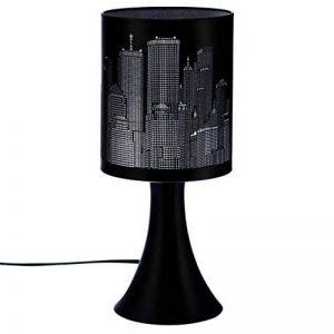 Lampe tactile New york Argent / Noire 3 intensités de la marque Atmosphera image 0 produit