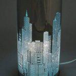 LAMPE TOUCH NEW YORK ROSE de la marque Générique image 1 produit