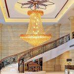 *lampes suspendues intérieures Lustres en cristal, lustres, lustres de plafond, lustres en cristal de salon, lumières d'entrée d'hôtel, lustres d'escalier, lustres en cristal de villa Lustre de ménage de la marque Yxx max image 2 produit