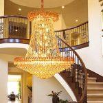 *lampes suspendues intérieures Lustres en cristal, lustres, lustres de plafond, lustres en cristal de salon, lumières d'entrée d'hôtel, lustres d'escalier, lustres en cristal de villa Lustre de ménage de la marque Yxx max image 3 produit