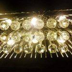*lampes suspendues intérieures Lustres en cristal, lustres rectangulaires de plafond, lustre en cristal de luxe Lustre de ménage de la marque Yxx max image 4 produit
