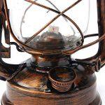 Larsure Vintage style industriel Lampe de Mur applique Lampe Murale applique murale lanterne rustique rétro éclairage mural Antique Lampe Murale Lampes de chevet pour le Corridor Restaurant Bar Vintage Light Outdoor, 40 x 18 cm (E27) or rétro de la marque image 2 produit