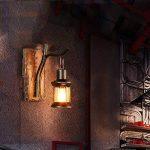 Lèche-Murs Applique Murale Lampe Murale en Bois en Métal Vintage Décoration Chic Intérieur ZHAOYONGLI de la marque ZHAOYONGLI-bideng image 4 produit