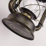 Lèche-murs Vintage Applique Lampe Lanterne Murale Eclairage Mural En Metal Verre E27 Retro Européen Style Lanterne Lampe Murale Antique Lanterne Applique Traditionnel Lampe Extérieure Lanterne Murale de la marque EUBEISAQI image 2 produit