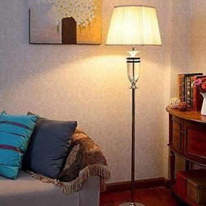LDDBD Hjr Flo Famille Minimaliste Moderne, Lampe De Bureau, Éclairage Européen Lampe De Mode Créative Lampe en Cristal/Salon / Chambre/Bureau / Luxe, 26 * 162Cm A +,Noir,A de la marque LDDBD image 0 produit