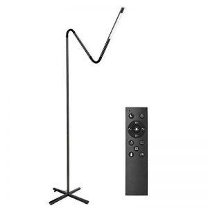 LE Lighting Ever Lampadaire Flexible Tactile 6W, 500lm, 3000-6000K, Dimmable, 100-240VAC, Lampe à Pied pour Séjour, Chambre de la marque Lighting EVER image 0 produit