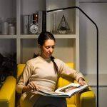 LE Lighting Ever Lampadaire Flexible Tactile 6W, 500lm, 3000-6000K, Dimmable, 100-240VAC, Lampe à Pied pour Séjour, Chambre de la marque Lighting EVER image 4 produit