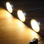 LE Lighting EVER Lampe LED 2W, Blanc Chaud, pour Placard, Meuble de Cuisine, Vitrine, Armoire, Exposition, Lot de 6 de la marque Lighting EVER image 4 produit