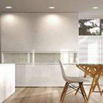 LED 10W Spot 230V–Ø 90mm–Blanc Rond–850LM–Blanc chaud (3000K) de la marque HAVA image 4 produit