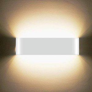 LED Applique murale 12W haute Lumineuse Applique Murale Intérieure Applique murale moderne Lampe Murale Interieur Hall d'entrée Escaliers Hôtels Lumières, Lumière Blanche Chaude de la marque SOBROVO image 0 produit