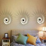 Led Applique Murale 3W 3000K Blanc Chaud Aluminium Interieur Lampe de Mur Decorative AC85-245V de la marque kaiyang image 1 produit