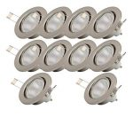 led encastrable plafond TOP 6 image 1 produit