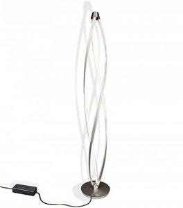 LED lampadaire lampe sur pied de sol lumière chambre coucher éclairage salle séjour actuel design spirale forme dimmable 30x140cm 36W blanc chaud de la marque Lewima image 0 produit