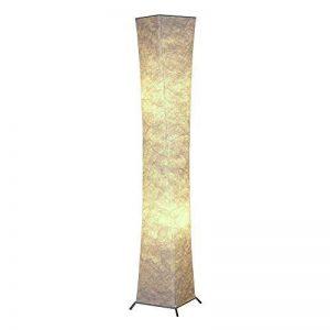Led Lampe de sol lumière douce avec Tyvek abat-jours en tissu, 132,1cm pliable pour salon Chambre à coucher Home Office Atmosphère chaleureuse, avec 2ampoules LED–besoin de monter–[Classe énergétique A + + +] de la marque JINTU image 0 produit
