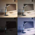 LED Lampe de table dimmable haute puissance à calendrier | lampe de bureau / lumière de table | Calendar Desk Lamp | 3 couleurs de lumière | Fonction de températures, d'alarme et de calendrier | haute efficacité lumineuse / env. 450lm | Classe d'efficacit image 4 produit