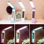 Led Lampe de table pliante Touch Dimming USB Light de charge Eye Perpetual Calendar de la marque LQABW image 2 produit
