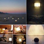 LED Livre Lampe GEEDIAR Lampe LED Pliante en Forme de Livre avec 2500mAh Batterie Lithium Lampe de chevet Veilleuse Lumieres Decoratives Lampes d'ambiance Dimension: 22*17*4CM (8.66*6.69*1.57Inch) de la marque GEEDIAR image 4 produit