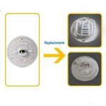 LED Module 32W Blanc Chaud 3000K Remplacement pour Plafonnier LED Rond Lampe-9 Pouces de la marque AWE-LIGHT image 3 produit