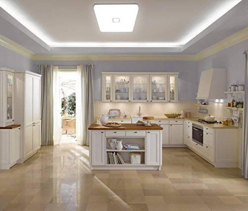 Luminaires Interieur Vgo 50w Led Plafonnier Froid Blanc Salon