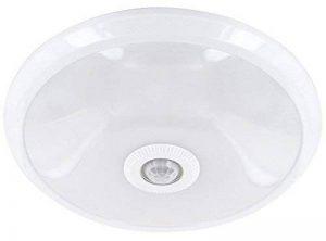 LED Slim Capteur à Lampe 12W-Plafonnier avec Détecteur de Mouvement PIR 360°-800lm-290x 60mm-Blanc chaud (3000K) de la marque HAVA image 0 produit