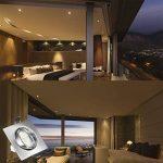 LED Spots Encastrables Orientable,Bojim 6x GU10 Lampe de Plafond Blanc du jour Carré Plafonnier Encastré 6W 4500K 600lm Equivalente de 54W Lampe 30°Orientable 120°d'éclairage 220V Métal Nickel Non Dimmable de la marque Bojim image 4 produit