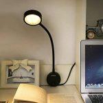 LEDGLE Lampe de Chevet 5W, Applique Murale LED à Col de Cygne Flexibles, Lampe de Lecture Réglable 360 Degrés avec Interrupteur 3000K-Blanc Chaud de la marque LEDGLE image 4 produit