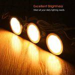 LEDGLE Lot de 3 Éclairage Sous Meuble Cuisine 6W Spot LED Lampe de Cabinet 550lm Éclairage encastré 3000K- Blanc chaud de la marque LEDGLE image 3 produit