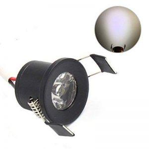 Lediary Mini spot LED encastrables 4couleurs disponibles 6000K (blanc lumière du jour) 3000K (blanc chaud) 1,5W, Black Body Daylight White 1.50 W de la marque LEDIARY image 0 produit