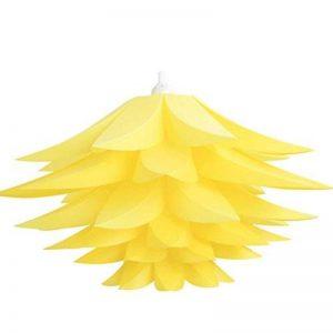 LEDMOMO Abat-jour Lustres Plafonnier Abat-jour Suspension Abat-jour Lampe de Plafond (Lotus Jaune) de la marque LEDMOMO image 0 produit