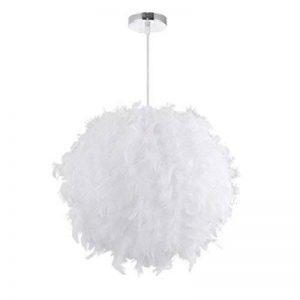 LEDMOMO Lampes suspendues - Plafonniers blancs d'ombre de plume avec le support de lampe d'E27 pour la chambre à coucher de salon de la marque LEDMOMO image 0 produit