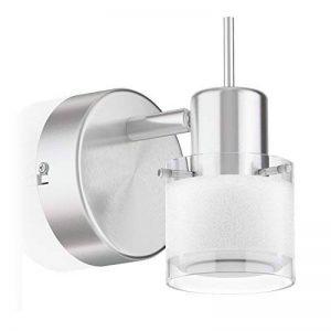ledscom.de Applique MIRAS, à Une Ampoule avec LED GU10 Ampoule, 460lm, Blanche-Chaude de la marque ledscom.de image 0 produit