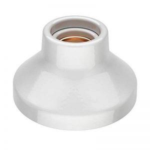 ledscom.de E27 porcelaine douille Elektra, ronde, blanche, 90mm de la marque ledscom.de image 0 produit
