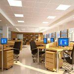 leduni® Panneau LED 48W carré 4500LM Angulo 120iP20aluminium 596mm * 596mm * 10hmm Lot de 2 Lumère blanc froid 6000K de la marque LEDUNI image 3 produit